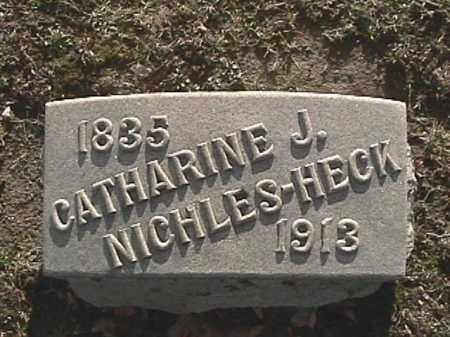 HECK, JEANETTE CATHERINE - Champaign County, Ohio | JEANETTE CATHERINE HECK - Ohio Gravestone Photos