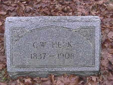 HECK, GEORGE WASHINGTON - Champaign County, Ohio   GEORGE WASHINGTON HECK - Ohio Gravestone Photos