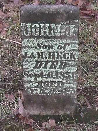 HECK, JOHN J. - Champaign County, Ohio | JOHN J. HECK - Ohio Gravestone Photos