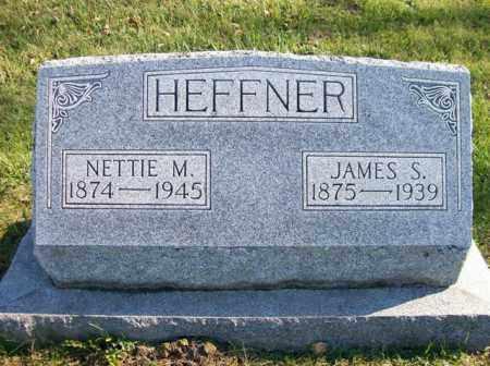HEFFNER, JAMES S. - Champaign County, Ohio | JAMES S. HEFFNER - Ohio Gravestone Photos
