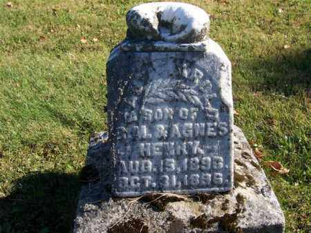 HENRY, ARNOLD - Champaign County, Ohio | ARNOLD HENRY - Ohio Gravestone Photos