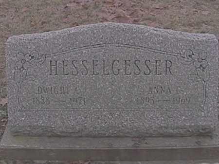 HESSELGESSER, DWIGHT C. - Champaign County, Ohio | DWIGHT C. HESSELGESSER - Ohio Gravestone Photos