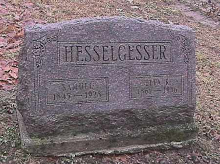 HESSELGESSER, JENNETTA ARMINA - Champaign County, Ohio | JENNETTA ARMINA HESSELGESSER - Ohio Gravestone Photos
