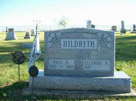 HILDRETH, ELEANOR R. - Champaign County, Ohio | ELEANOR R. HILDRETH - Ohio Gravestone Photos