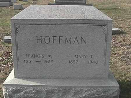 HOFFMAN, MARY T. - Champaign County, Ohio | MARY T. HOFFMAN - Ohio Gravestone Photos