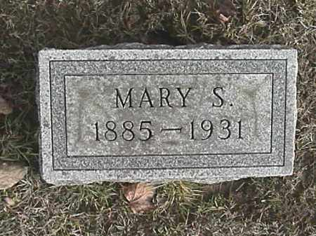 CARTER HOFFMAN, MARY SARAH - Champaign County, Ohio | MARY SARAH CARTER HOFFMAN - Ohio Gravestone Photos