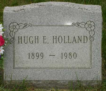 HOLLAND, HUGH EDWARD - Champaign County, Ohio | HUGH EDWARD HOLLAND - Ohio Gravestone Photos