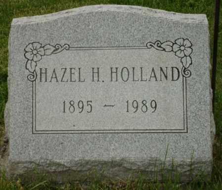 HOLLAND, HAZEL H. - Champaign County, Ohio | HAZEL H. HOLLAND - Ohio Gravestone Photos