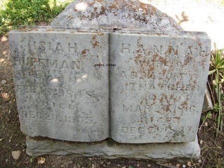 APPLE HUFFMAN-THATCHER, HANNAH JANE - Champaign County, Ohio | HANNAH JANE APPLE HUFFMAN-THATCHER - Ohio Gravestone Photos