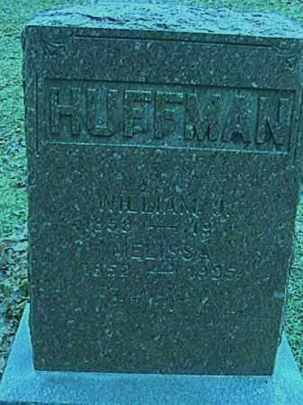 HUFFMAN, WILLIAM J. - Champaign County, Ohio | WILLIAM J. HUFFMAN - Ohio Gravestone Photos