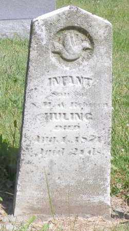 HULING, INFANT - Champaign County, Ohio | INFANT HULING - Ohio Gravestone Photos