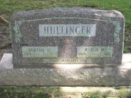 HULLINGER, MYRON M - Champaign County, Ohio | MYRON M HULLINGER - Ohio Gravestone Photos
