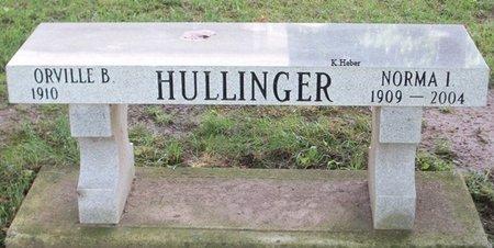 HULLINGER, NORMA I - Champaign County, Ohio | NORMA I HULLINGER - Ohio Gravestone Photos