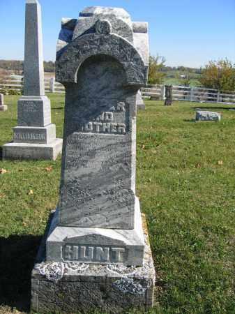 HUNT, PHEBE - Champaign County, Ohio | PHEBE HUNT - Ohio Gravestone Photos