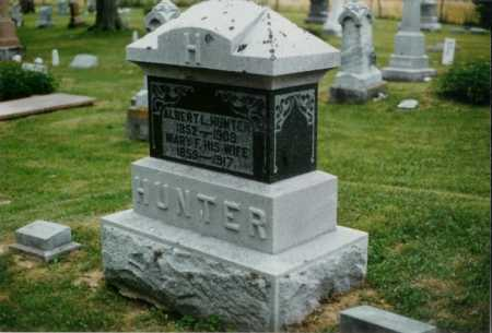 HUNTER, ALBERT - Champaign County, Ohio | ALBERT HUNTER - Ohio Gravestone Photos