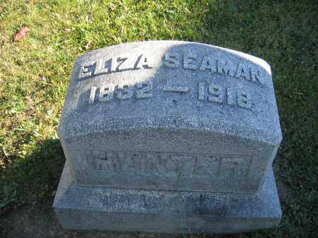 HUNTER, ELIZA SEAMAN - Champaign County, Ohio   ELIZA SEAMAN HUNTER - Ohio Gravestone Photos