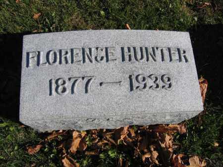 HUNTER, FLORENCE - Champaign County, Ohio | FLORENCE HUNTER - Ohio Gravestone Photos