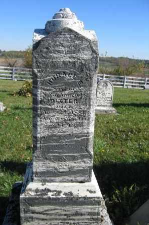 HUNTER, HORACE E. - Champaign County, Ohio | HORACE E. HUNTER - Ohio Gravestone Photos