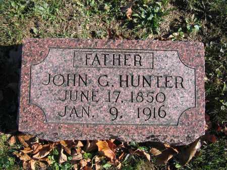 HUNTER, JOHN G. - Champaign County, Ohio   JOHN G. HUNTER - Ohio Gravestone Photos
