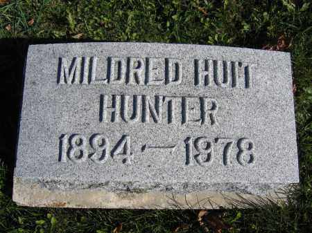 HUNTER, MILDRED HUIT - Champaign County, Ohio | MILDRED HUIT HUNTER - Ohio Gravestone Photos