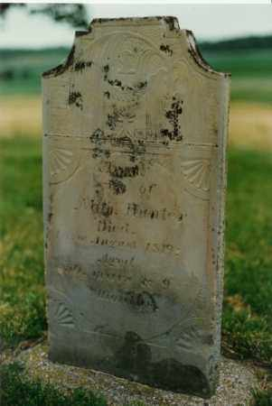 HUNTER, ANNA - Champaign County, Ohio | ANNA HUNTER - Ohio Gravestone Photos
