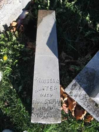 HUNTER, SAMUEL B. - Champaign County, Ohio | SAMUEL B. HUNTER - Ohio Gravestone Photos