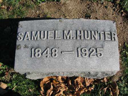 HUNTER, SAMUEL M. - Champaign County, Ohio | SAMUEL M. HUNTER - Ohio Gravestone Photos