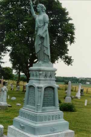 HUNTER, NATHANIEL C - Champaign County, Ohio | NATHANIEL C HUNTER - Ohio Gravestone Photos
