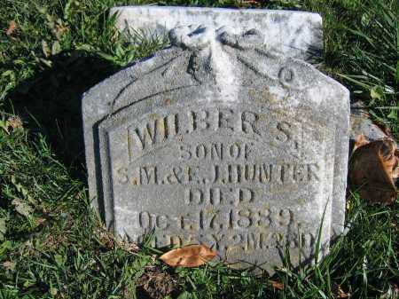 HUNTER, WILBER S. - Champaign County, Ohio | WILBER S. HUNTER - Ohio Gravestone Photos