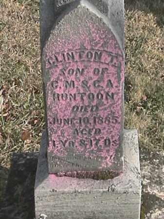 HUNTOON, CLINTON T. - Champaign County, Ohio | CLINTON T. HUNTOON - Ohio Gravestone Photos