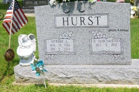 AUSTIN HURST, DELORES JEAN - Champaign County, Ohio | DELORES JEAN AUSTIN HURST - Ohio Gravestone Photos