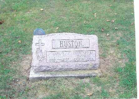 HUSTON, FOUNTABELLA - Champaign County, Ohio | FOUNTABELLA HUSTON - Ohio Gravestone Photos