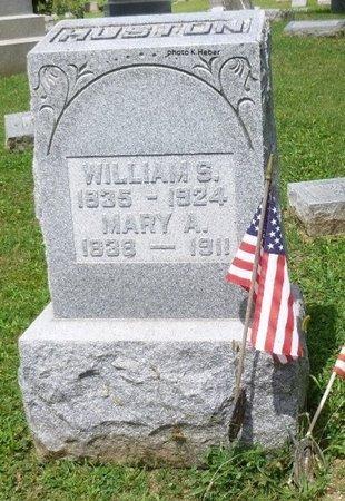 AREHART HUSTON, MARY ANN - Champaign County, Ohio | MARY ANN AREHART HUSTON - Ohio Gravestone Photos