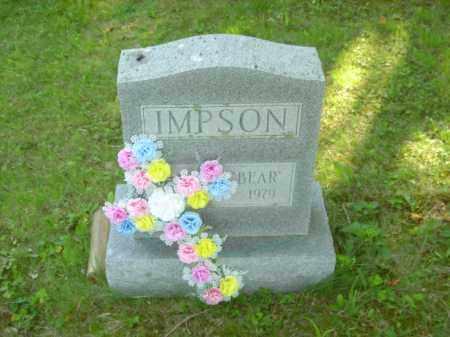 IMPSON, HAROLD - Champaign County, Ohio | HAROLD IMPSON - Ohio Gravestone Photos