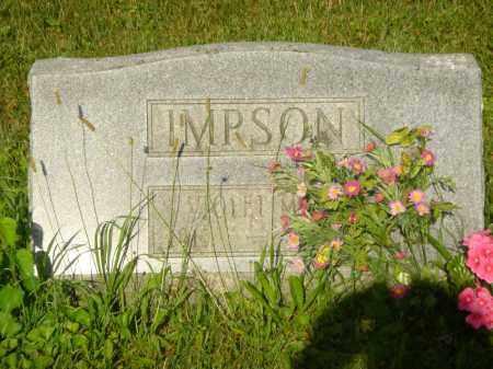 MARTIN IMPSON, VIOLET MAE - Champaign County, Ohio   VIOLET MAE MARTIN IMPSON - Ohio Gravestone Photos
