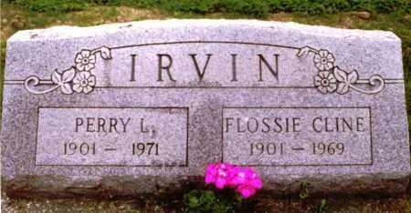 IRVIN, PERRY - Champaign County, Ohio | PERRY IRVIN - Ohio Gravestone Photos