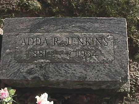 JENKINS, ADDA R - Champaign County, Ohio | ADDA R JENKINS - Ohio Gravestone Photos