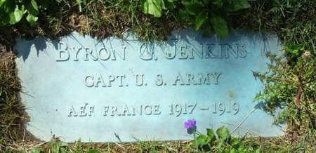 JENKINS, BYRON GRAY - Champaign County, Ohio   BYRON GRAY JENKINS - Ohio Gravestone Photos