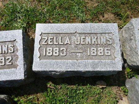 JENKINS, MAUDE ZELLA - Champaign County, Ohio | MAUDE ZELLA JENKINS - Ohio Gravestone Photos