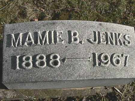 BOLLINGER JENKS, MAMIE B. - Champaign County, Ohio | MAMIE B. BOLLINGER JENKS - Ohio Gravestone Photos