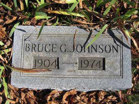 JOHNSON, BRUCE G. - Champaign County, Ohio | BRUCE G. JOHNSON - Ohio Gravestone Photos