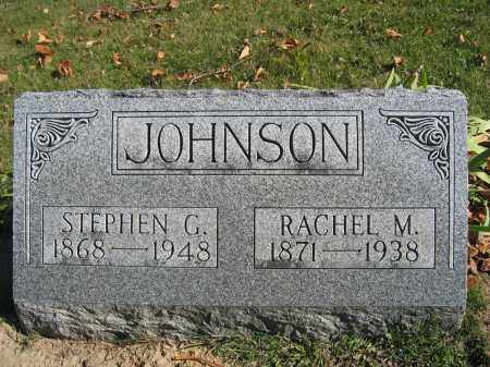 JOHNSON, STEPHEN G. - Champaign County, Ohio | STEPHEN G. JOHNSON - Ohio Gravestone Photos
