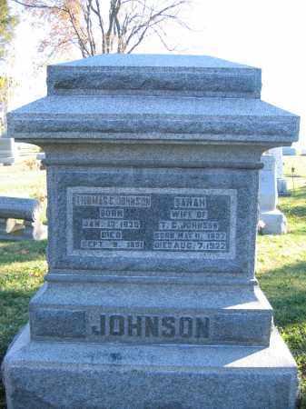JOHNSON, THOMAS C. - Champaign County, Ohio | THOMAS C. JOHNSON - Ohio Gravestone Photos