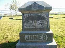 JONES, MARY E - Champaign County, Ohio   MARY E JONES - Ohio Gravestone Photos