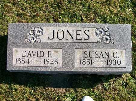 JONES, DAVID E - Champaign County, Ohio | DAVID E JONES - Ohio Gravestone Photos