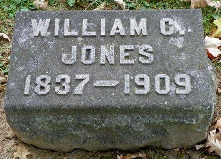 JONES, WILLIAM C. - Champaign County, Ohio   WILLIAM C. JONES - Ohio Gravestone Photos