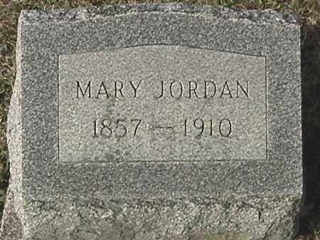 JORDON, MARY ELIZABETH - Champaign County, Ohio | MARY ELIZABETH JORDON - Ohio Gravestone Photos