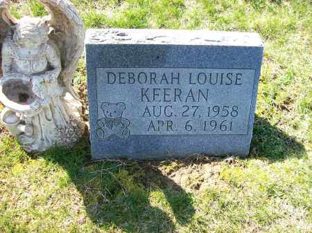 KEERAN, DEBORAH LOUISE - Champaign County, Ohio | DEBORAH LOUISE KEERAN - Ohio Gravestone Photos
