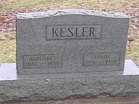 KESLER, DAVID - Champaign County, Ohio | DAVID KESLER - Ohio Gravestone Photos