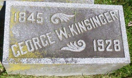 KINSINGER, GEORGE W - Champaign County, Ohio | GEORGE W KINSINGER - Ohio Gravestone Photos